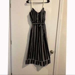 Charlotte Russe black and white Jumpsuit - size 5